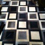 Saddleman NEW Suzanna 2 collection leather rug