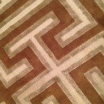 Due Process Wesley Mancini Collection Knotted Rug Wool and Viscose Collection