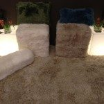 Cozy Comforts with a Curly Sheepskin Rug by Auskin