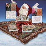 "2012 ""Woven Treasures"" advertising rug calendar from Paul Shaper Productions"