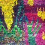 ABC Decorative Rugs at WMC NEW Sari Silk Collection IKA1