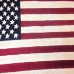 Romani inc. highlights indoor/outdoor American flag rugs