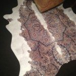 New at ICFF 2013 mineheart Cowhide Collection Rug