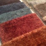 New at ICFF 2013 Malene B Recycled Sari Silk Collection Rug