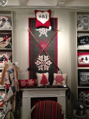 Chandler 4 Corners Displays Their New Chalet Collection Rugs At