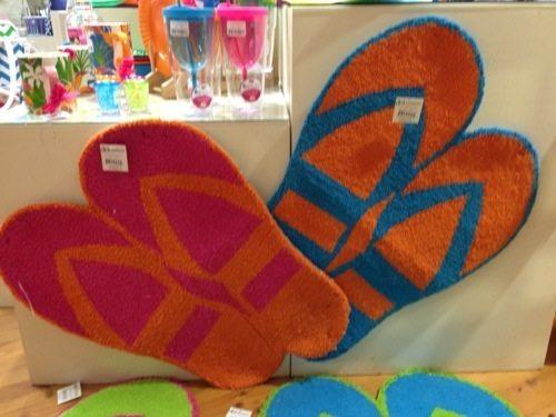 Dennis East International Innovative Flip Flops Rugs