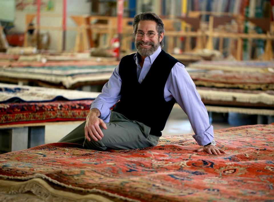 Charming Boston Globe: Bankrupt Building 19 Reinvents Itself As A Rug Store