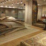 NEW Sari Wool and Ikat Sari Silk rugs from F.J. Kashanian Rugs at AmericasMart Atlanta.