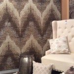 NEW KAS Rugs and Home 8006 Champagne Chevron from Donny Osmond Timeless Collection at Las Vegas Market