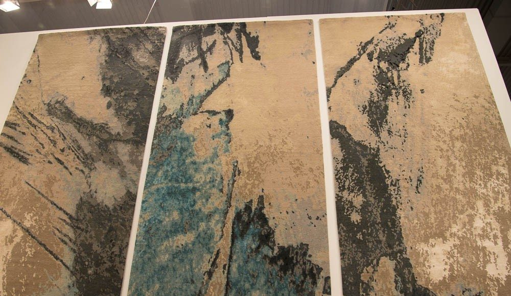 Triptych By Knots Rugs London At Domotex