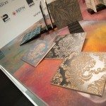 Italian Manestrello Tile Just was a WoW! at Maison & Objet