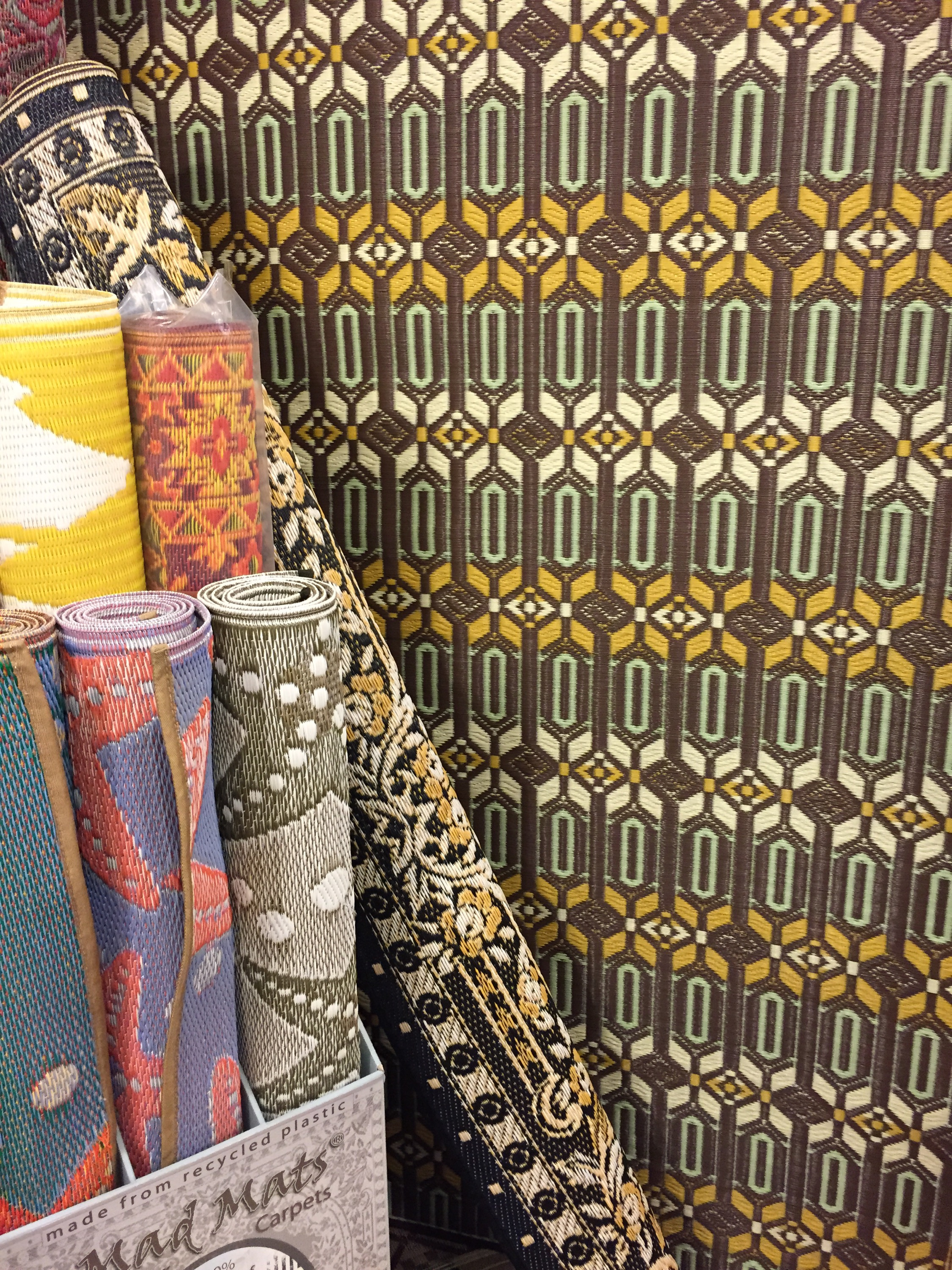 Mariachi Imports Is Now Offering The Wonderful Morrocan Rugs From Mad Mats These Great Ers Are Made Of Recycled Plastic For Indoor And Outdoor Use
