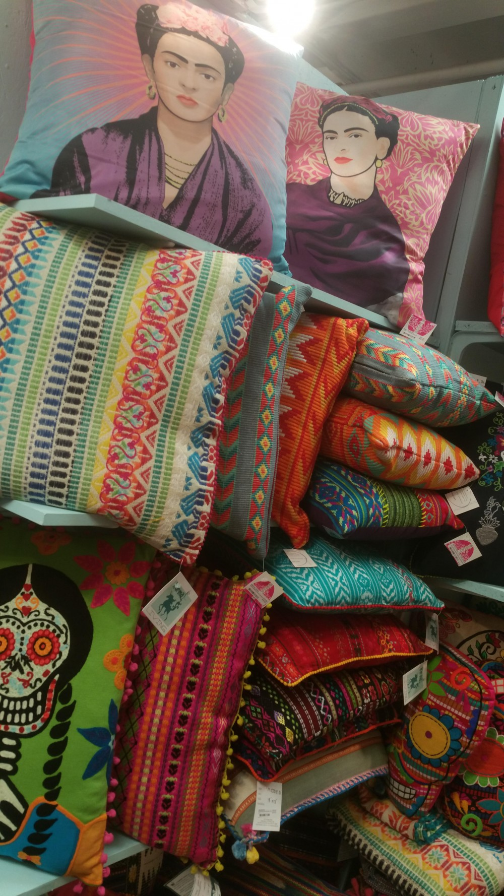 New Colorful Karma Living Design Pillows Ottomans
