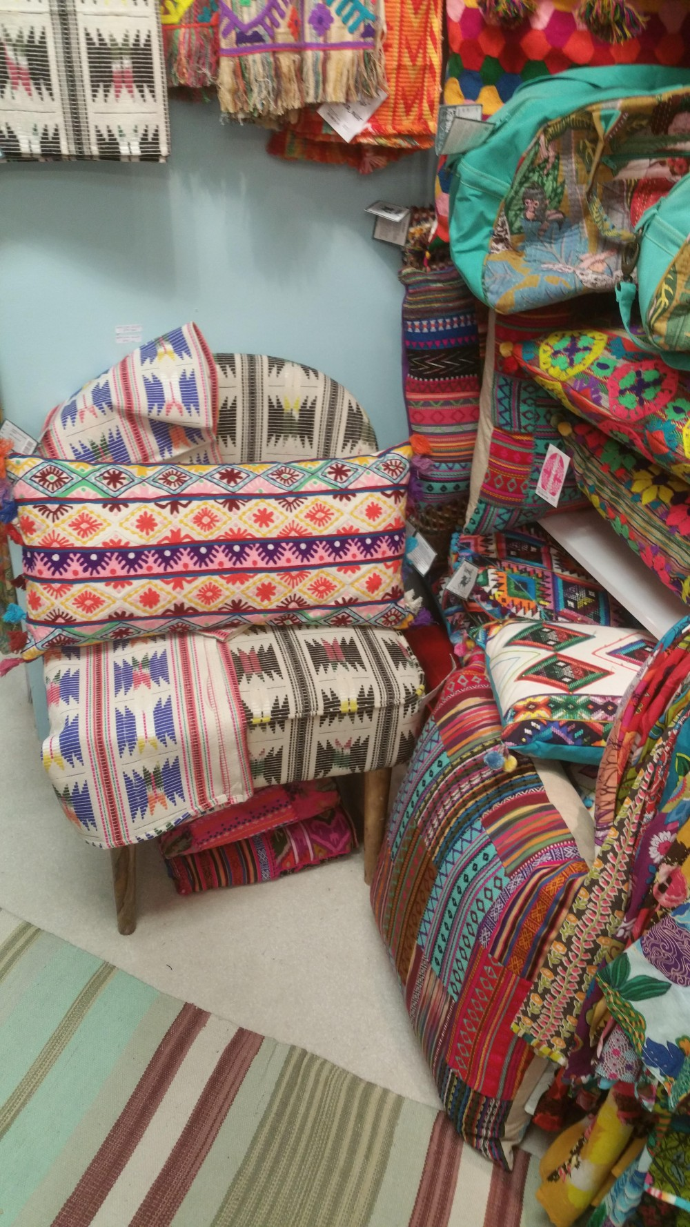 Karma Living Came To The July 2016 Atlanta Market With Their Colorful Mexican Inspired Designs