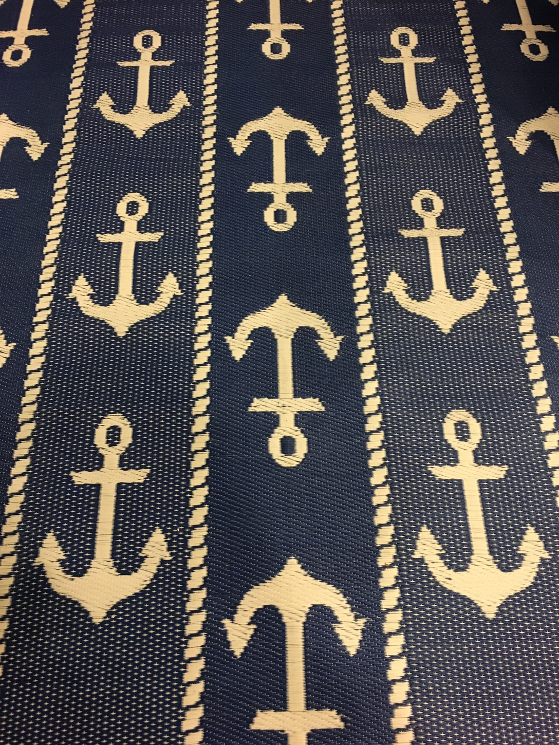 Mariachi Imports Added The Anchor Outdoor Rug At The