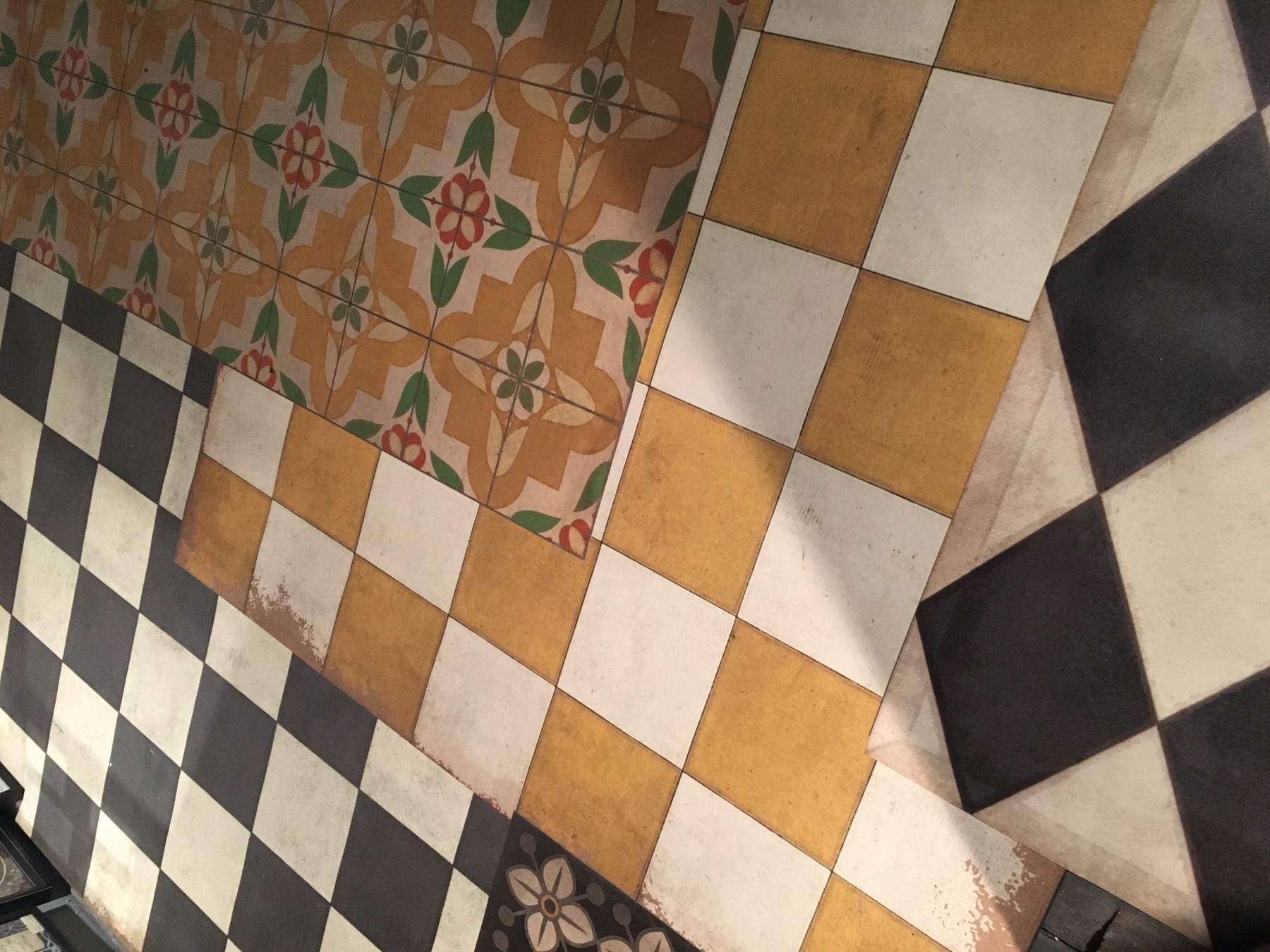 Spicher And Co Innovative Vintage Vinyl Floorcloths At