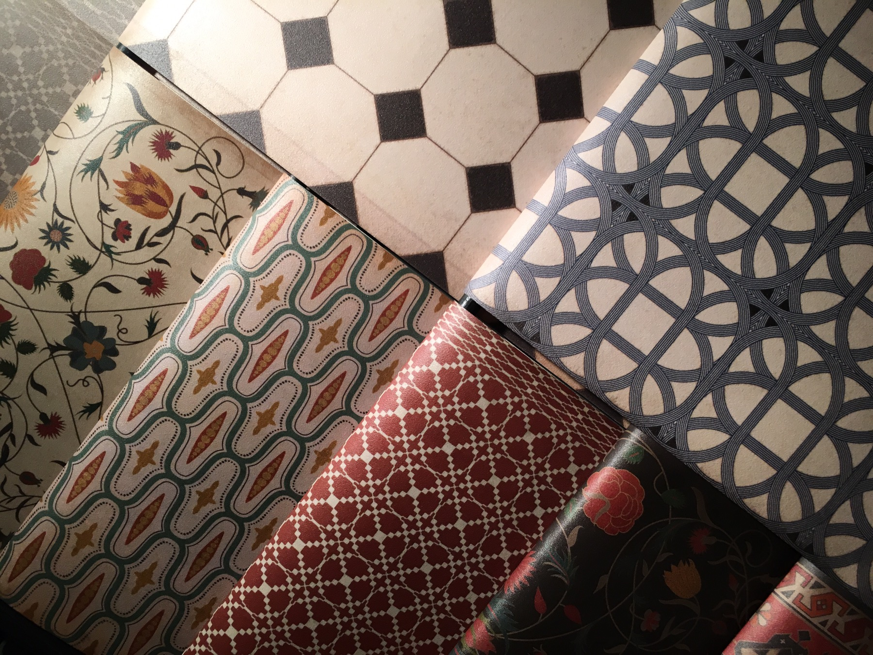 Spicher And Co Innovative Vintage Vinyl Floorcloths At
