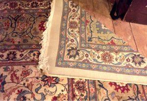 E Hill Carpet: 12x15 made in Amritsar c 1969