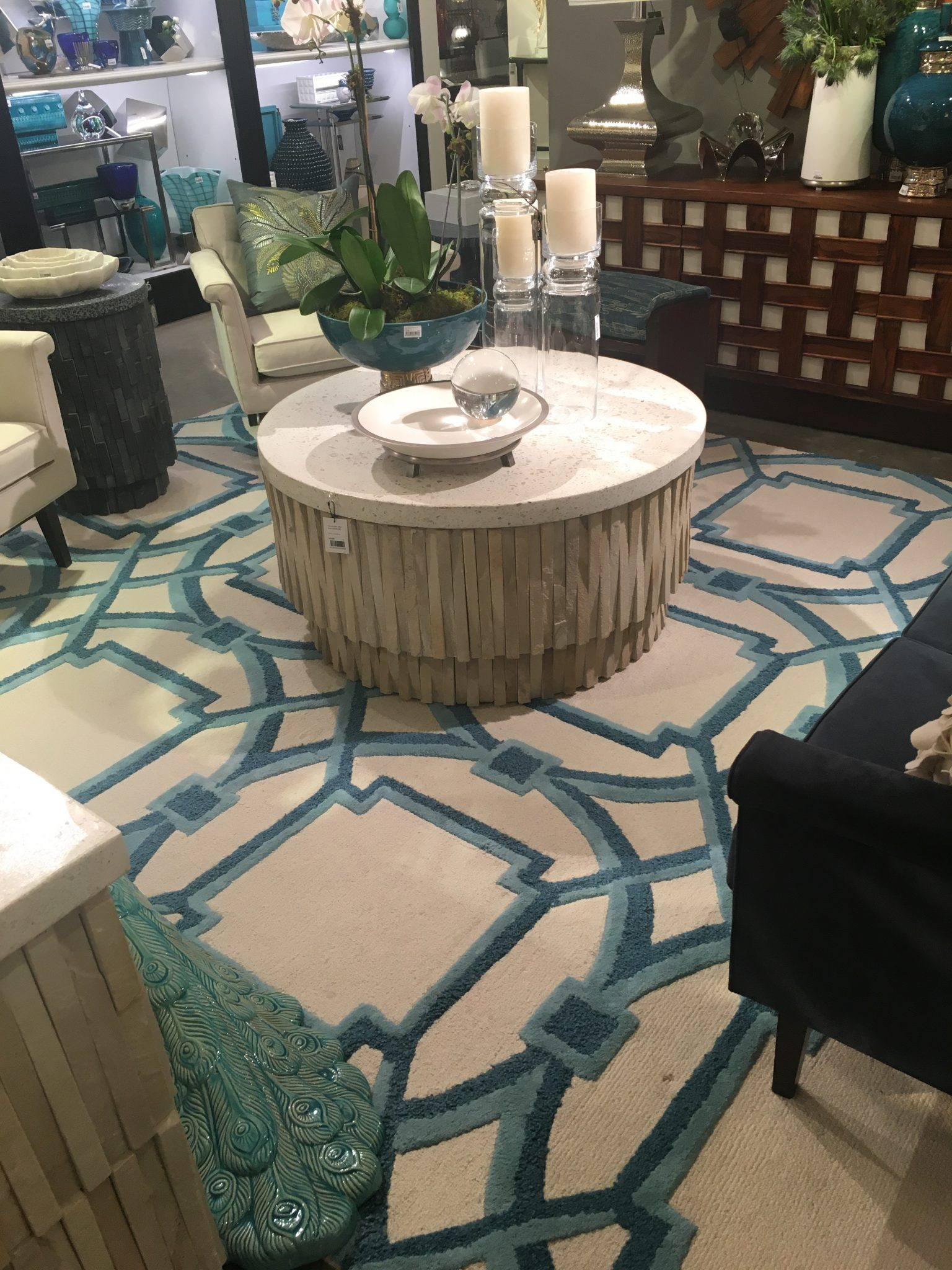 Global Views MODERN Arabesque Rug at AmericasMart Rug News