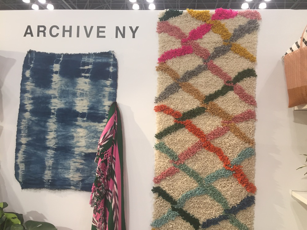 New handmade runners from Archive NY At NYNOW - Rug News ...