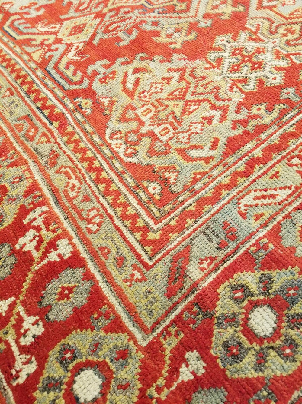 Vintage Persian Rugs Unique Oushak Rug At Americasmart