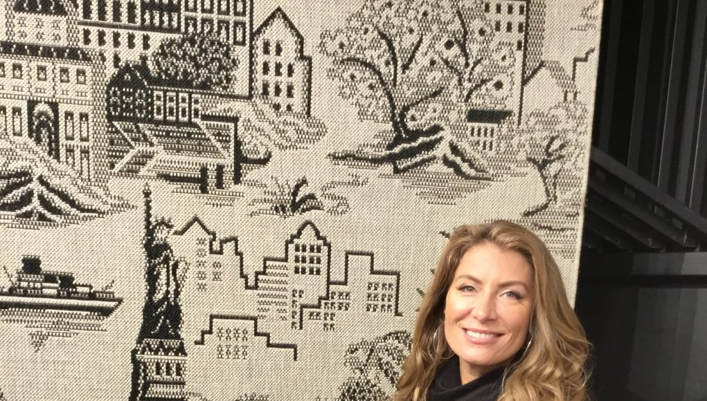 A Rug For Home Sick New Yorkers By Genevieve Gorder Capel