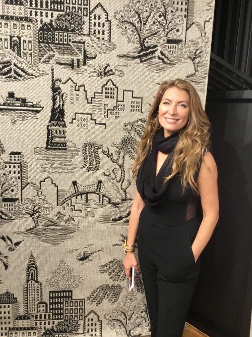 A Rug For Home Sick New Yorkers By Genevieve Gorder For