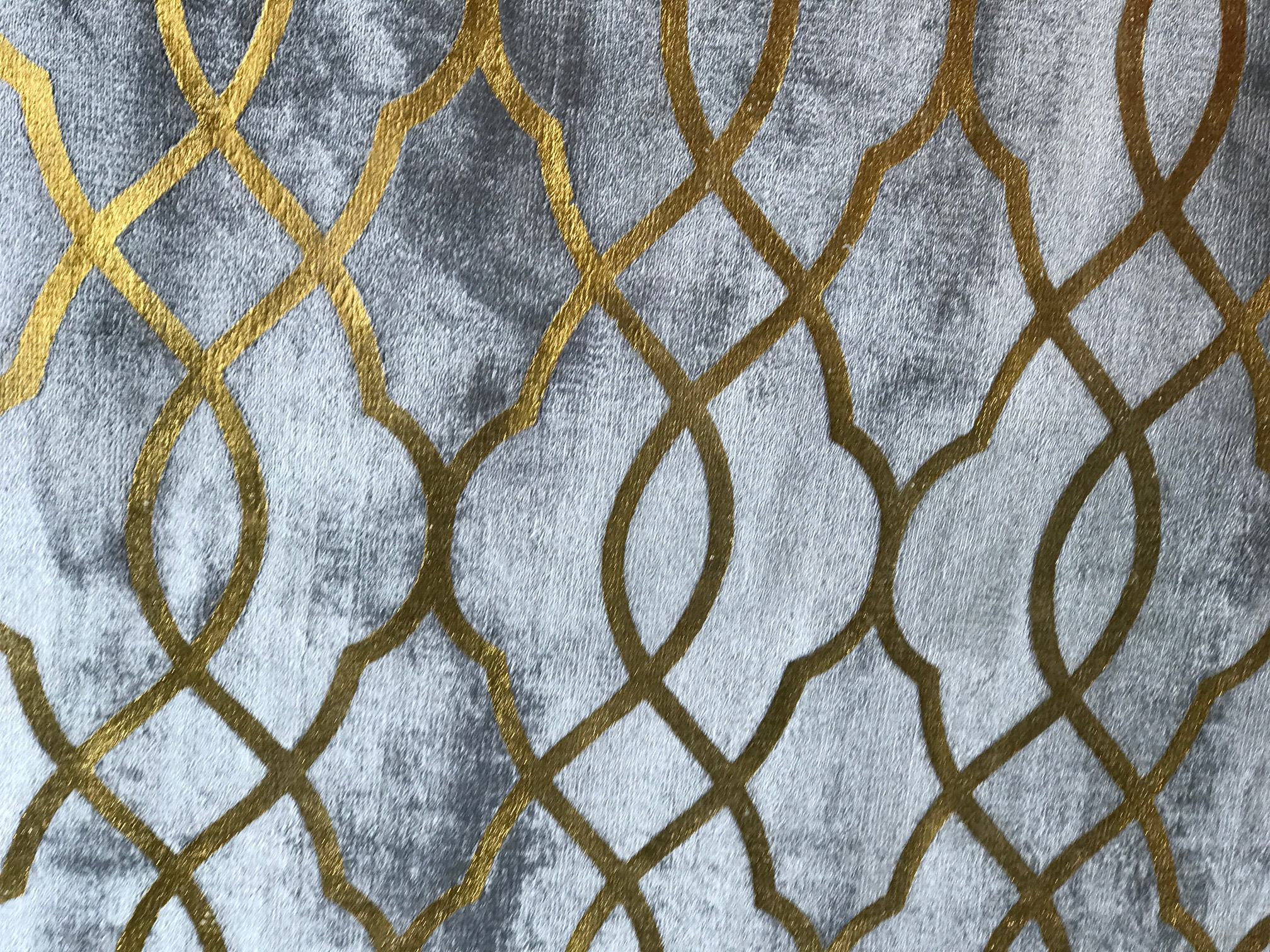 New From Tufan Amara Shimmers With Printed Gold In Las